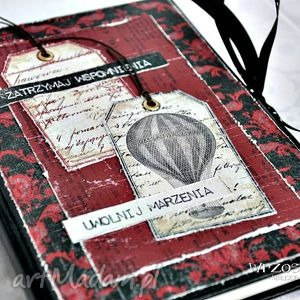 scrapbooking notesy uwolnij marzenia kalendarz 2015, kalendarz, vintage