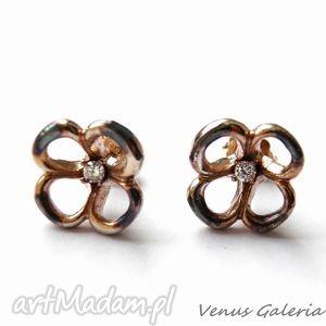 kolczyki srebrne - koszyczki małe, biżuteria, srebro, kolczyki