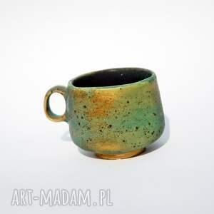 kubki filiżanka do espresso zielony kamień, kawa, espresso, mocna kawa