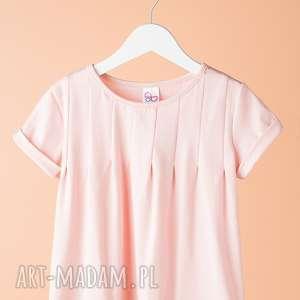 bluzka db09r - bluzka, dziewczęca, elegancka, stylowa, modna