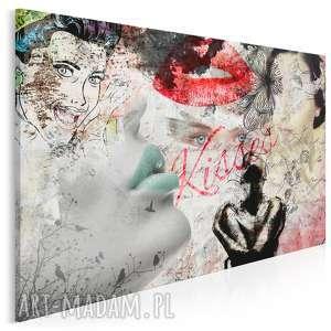 obraz na płótnie - kobiety retro 120x80 cm 19001, kobiety, retro, vintage