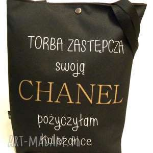 torba z chanel, torba, pojemna