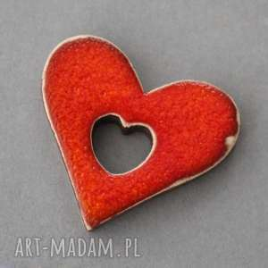 Serce w sercu-magnes ceramiczny magnesy kopalnia ciepla serce