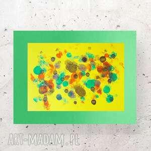 abstrakcyjna grafika do pokoju, nowoczesna dekoracja loftu, minimalistyczny
