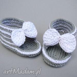 sandałki murcja, buciki, niemowlę, dziewczynka, dziecko, lato, bawełna