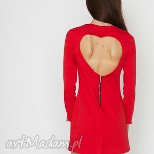 handmade sukienki red hot