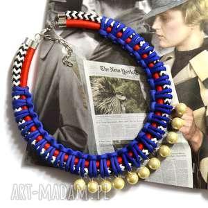 ręcznie robione naszyjniki elegancki naszyjnik pleciony z perłami