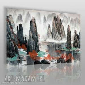 obraz na płótnie - pejzaż chiny góry tianzi 120x80 cm 55301, tianzi, góry