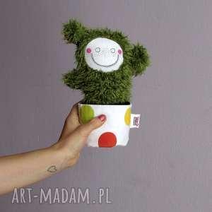 Prezent Kaktusica EMILY - na zamówienie, maskotka, kaktus, doniczka, ozdoba, prezent