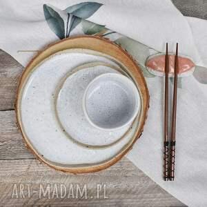 zestaw ceramiczny, 4-częściowy, kamionka, ceramika, zastawa, ceramiczny