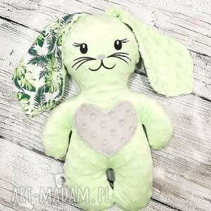tinyart królik z uszami miękka maskotka dla dziecka minky