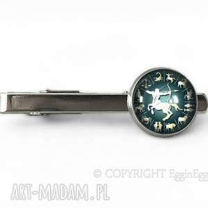Zodiak - Spinka do krawata - ,spinka,krawata,symboliczna,znak,zodiaku,zodiak,