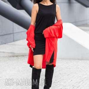 Sukienka czarna Catena Nero, sukienka, dekolt, impreza