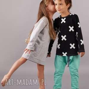 ubranka spodnie baggy mięta, spodnie, baggy, dziecko, wiosna, święta prezent