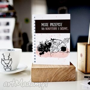 handmade notesy moje przepisy na konfitury i dżemy