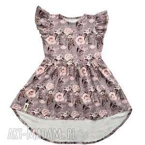 handmade sukienka róże