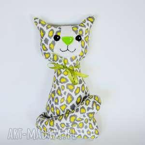 kotek miau - cytrynka - 25cm - kot, kotek, zabawka, maskotka, przytulanka, roczek