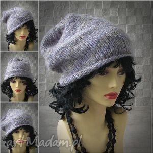 oversized slouchy beanie ręcznie robiona - beanie, slouchy, czapka, hipster