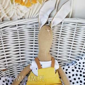 hand made maskotki pan królik maskotka z imieniem