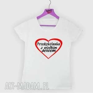 Prezent Koszulka z nadrukiem dla przedszkolanki, prezent na dzień edukacji,