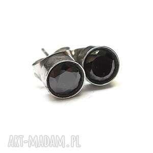 alloys collection /cyrkonie -black/, stal, szlachetna, cyrkonie, sztyfty