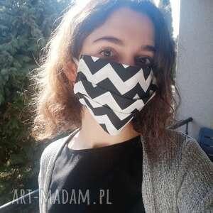 maseczki maseczka, maska dwuwarstwowa ochronna do wielokrotnego użytku, motyw