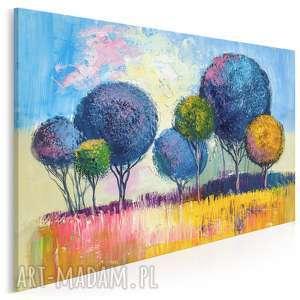 Obraz na płótnie - drzewa natura 120x80 cm 79601 vaku dsgn