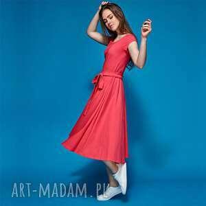 TO COŚ sukienka z dzianiny bawenianej, sukienka, dzianina, bawełna