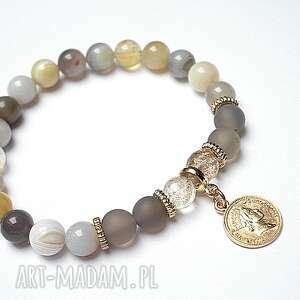 agaty botswana /25 01 15/, agaty, moneta, kwarc, metal