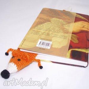 Prezent Zakładka do książki - lis, lisek, zakładka, prezent, książka, czytanie