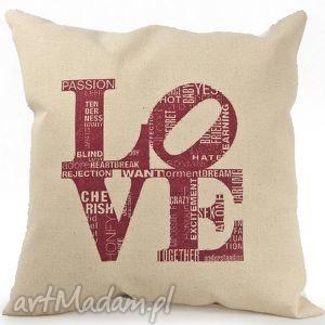 Prezent Poduszka na walentynki LOVE, poduszka, walentynki, dekoracja, prezent