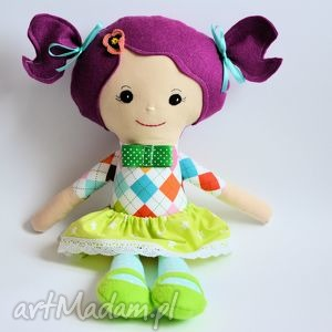lala rojberka ania, lalka, zabawka, maskotka, szmacianka, przytulanka