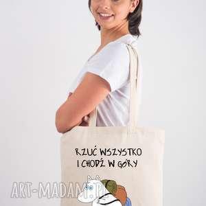 hand-made licencjonowana torba muminki z długim uchem rrzuć wszystko i chodź w góry