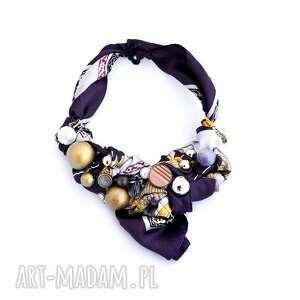 hand-made naszyjniki ultra violet naszyjnik handmade