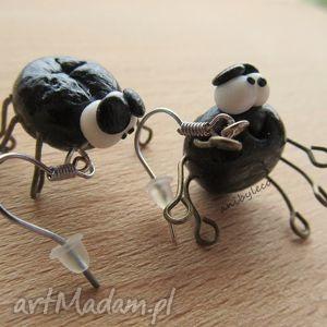 ręcznie zrobione kolczyki kolczyki pająki