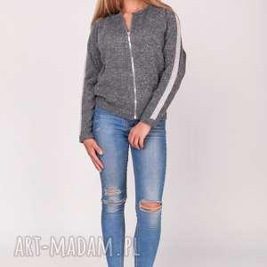 oryginalny prezent, feltrisimi sweter,bomberka, sweter, bomberka, zamek, lampasy