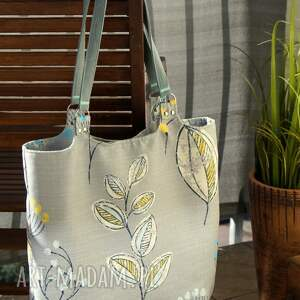 na ramię kwiatowa torba / worek ramię, torba, wiosna lato, prezent
