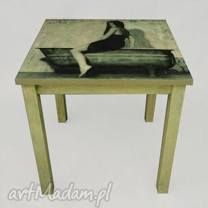 ręcznie robione stoły wanna i sandra