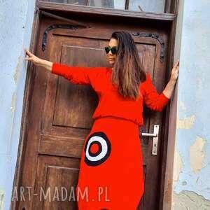 sukienki sukienka z madalą, bohostyle, maxi sukienka, etno style, czerwona