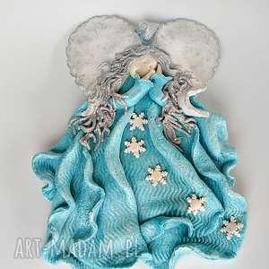 ręczne wykonanie pomysł na świąteczny upominek anioł stróż z kolekcji weihnachten