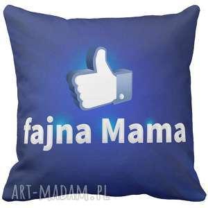 poduszki poduszka na prezent like fajna mama dzień mamy matki 6782, dzień