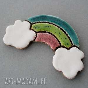 tęcza-magnes ceramiczny, skandynawski, minimalizm, design, święta, parapetówka