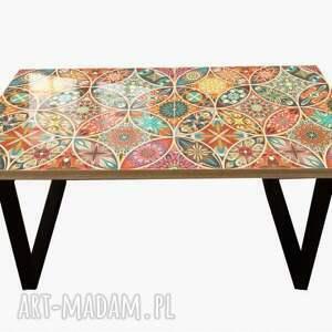hand-made stoły wheels-nowoczesny stolik loft kawowy do salonu