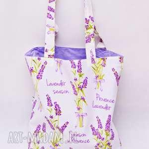 torba na zakupy shopperka ekologiczna zakupowa ramię bawełniana siatka