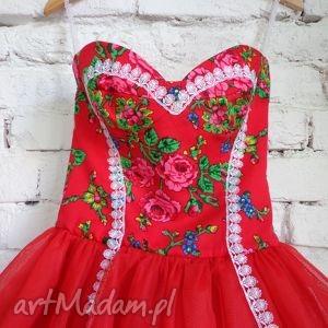 sukienka folk design aneta larysa knap, folk