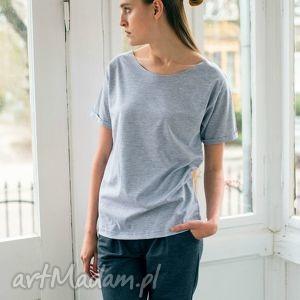 NATURE GREY Oversize T-shirt, oversize, szary, tshirt, bawełna, moda, casual