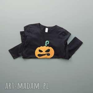 hand-made bluzki halloween: metallic pumpkin bluzka damska