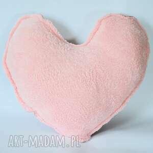 Poduszka - Pudrowe puszyste serce, poduszka, dziewczynka, pudrowe, urodziny