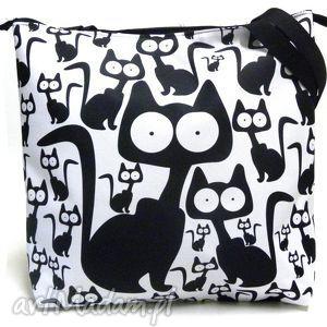 Torba na zamek ramię gaul designs torba, xxl, pojemna