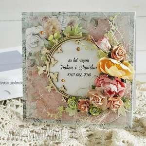 koralowe gody - zamówienie p ewy, rocznic, ślub, rodzicom, kartka, pamiątka